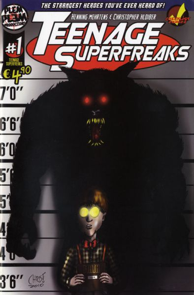 Teenage Superfreaks 1A