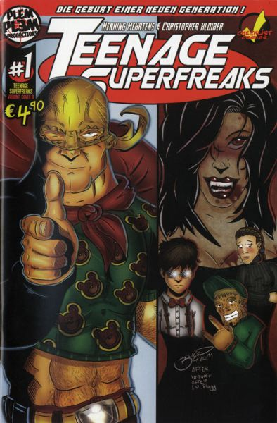 Teenage Superfreaks 1C
