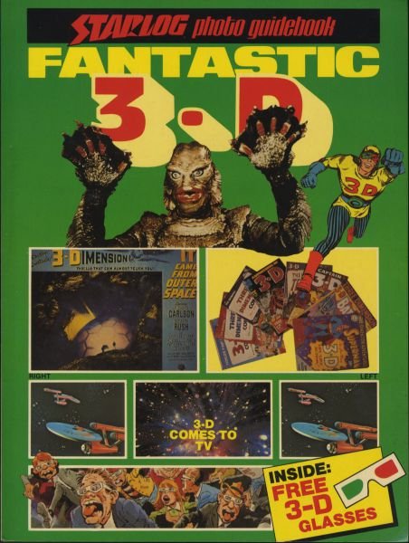 Starlog Photo Guidebook - Fantastic 3-D (SC, mit 3-D Brille)