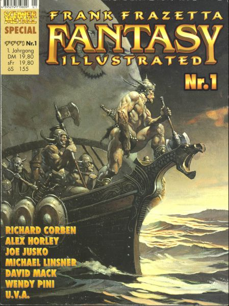 Frank Frazetta Fantasy Illustrated 1 (SC)
