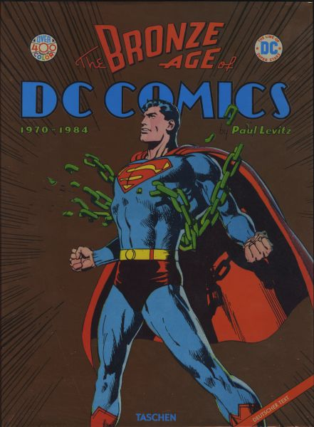 The Bronze Age of DC Comics (1970 - 1984) dicker fetter HC