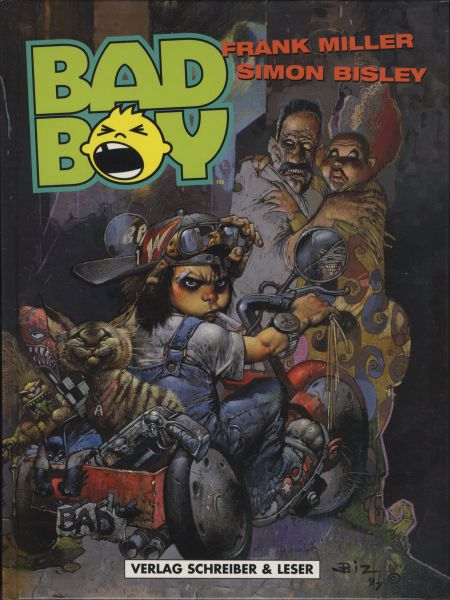 Bad Boy (HC, Frank MiIller & Simon Bisley)