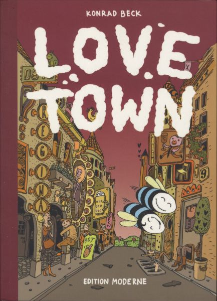 Edition Moderne - Love Town (SC, Strip ohne Text)